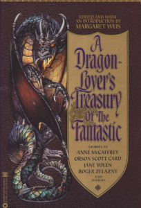 A Dragon-Lover's Treasury of the Fantastic book cover