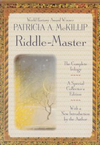 Riddlemaster Trilogy book cover