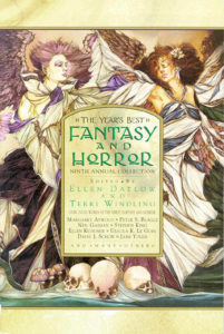 Years Best Fantasy and Horror 9 book cover